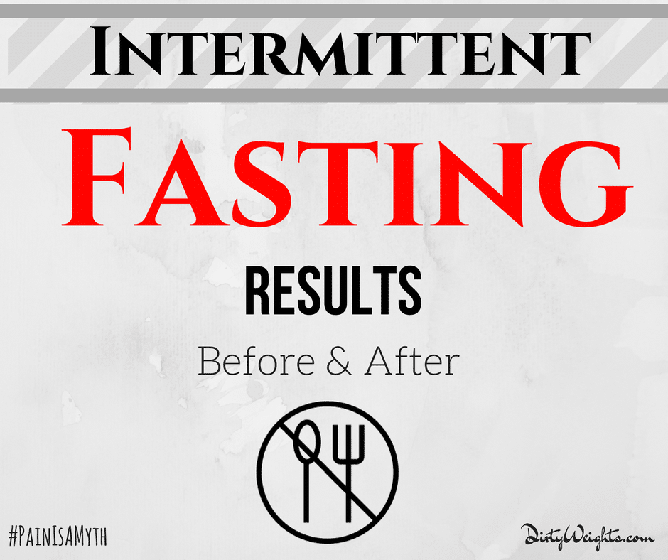 Intermittent Fasting Results | Meal Plan Schedule | Before and After Pics!