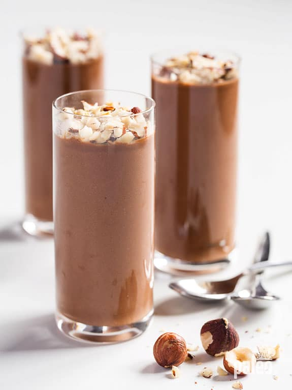Paleo Chocolate Banana Pudding