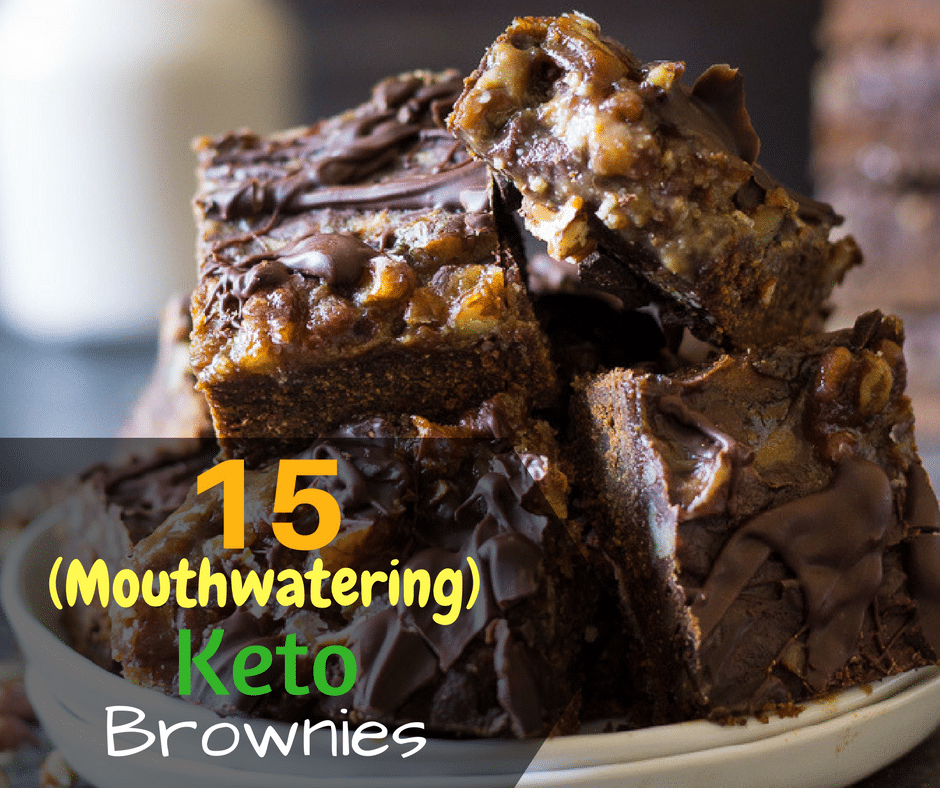 Keto Brownies: 15 (Mouthwatering) Recipes & Ideas