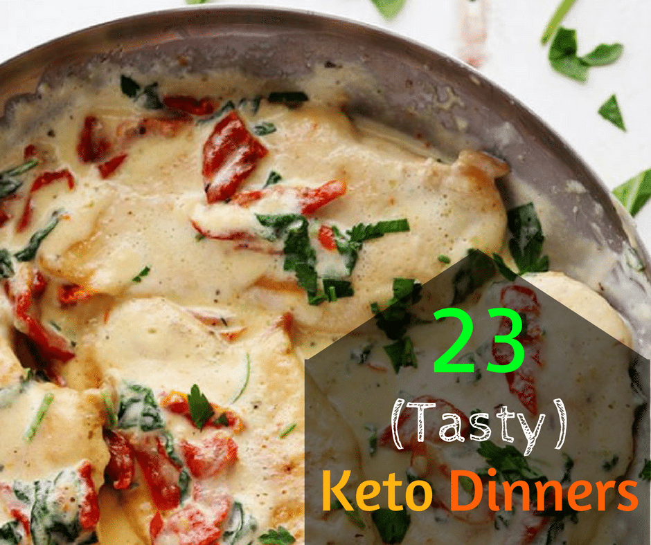 Keto Dinner Ideas: 23 (Tasty) Recipes For Super-Moms!