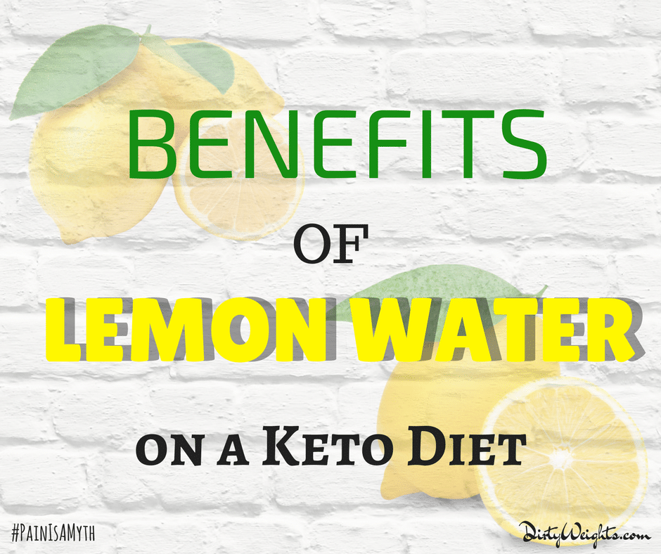 Benefits of Lemon Water on a Keto Diet
