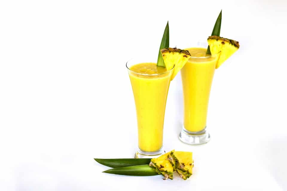 Low Carb Pineapple Smoothie